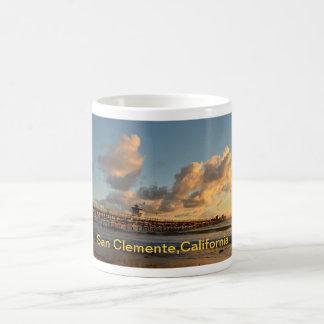 Pier San Clementes Kalifornien Kaffeetasse