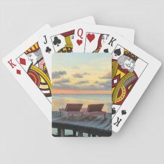 Pier übersieht den Ozean, Belize Spielkarten