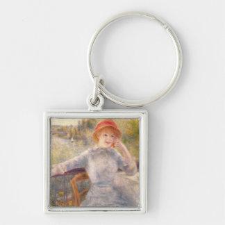 Pierre ein Renoir | A. Fournaise beim Grenouillere Schlüsselanhänger