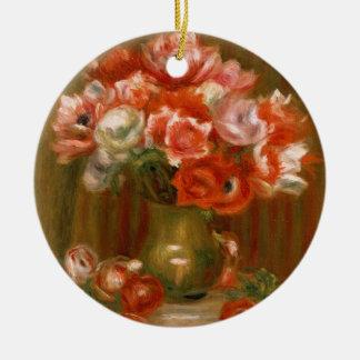 Pierre ein Renoir | Anemonen Keramik Ornament