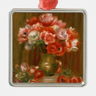 Pierre ein Renoir | Anemonen Silbernes Ornament