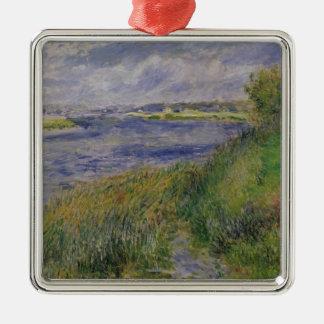 Pierre ein Renoir   Banken der Seines, Champrosay Silbernes Ornament