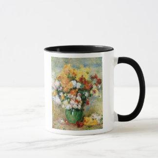Pierre ein Renoir | Blumenstrauß der Chrysanthemen Tasse