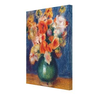 Pierre ein Renoir | Blumenstrauß Leinwanddruck