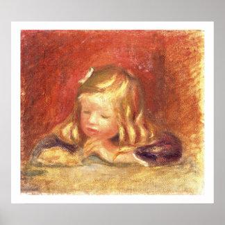 Pierre ein Renoir | Coco am Tisch Poster
