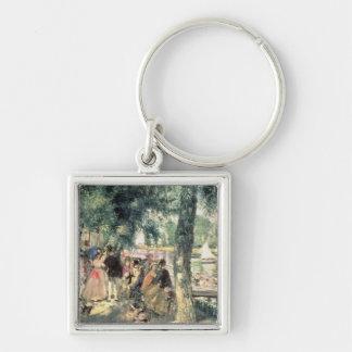 Pierre ein Renoir |, das auf der Seine badet Schlüsselanhänger