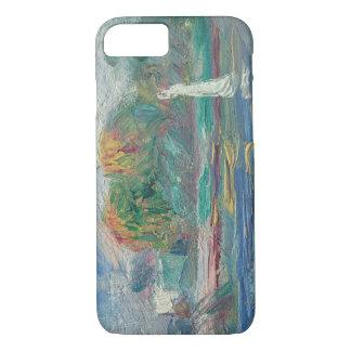 Pierre ein Renoir | der blaue Fluss iPhone 8/7 Hülle
