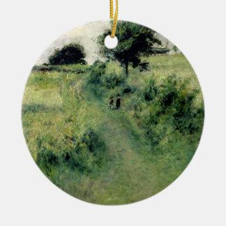 Pierre ein Renoir | der Wässern-Platz Keramik Ornament