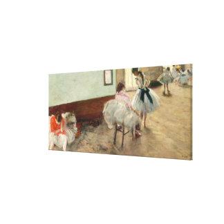 Pierre ein Renoir | die Tanzstunde Leinwanddruck