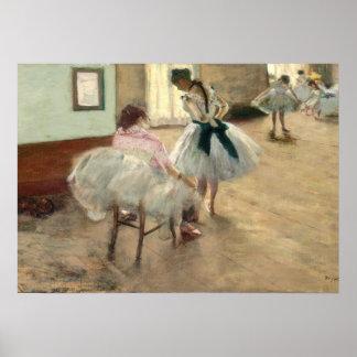 Pierre ein Renoir | die Tanzstunde Poster