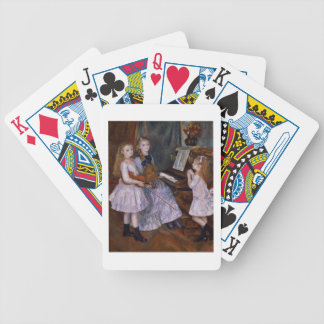 Pierre ein Renoir | die Töchter von Catulle Mendes Bicycle Spielkarten