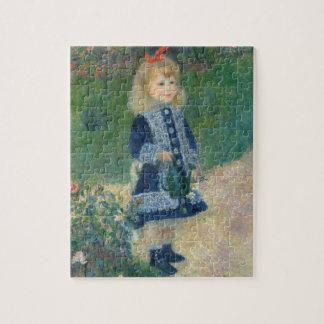 Pierre ein Renoir | ein Mädchen mit einer Puzzle