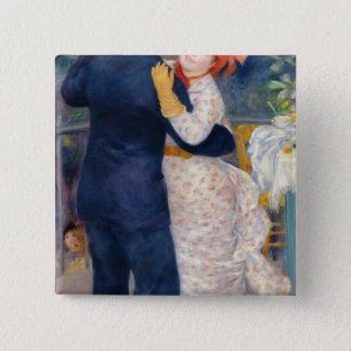 Pierre ein Renoir | ein Tanz im Land Quadratischer Button 5,1 Cm