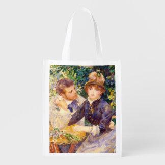 Pierre ein Renoir | im Garten Wiederverwendbare Einkaufstasche