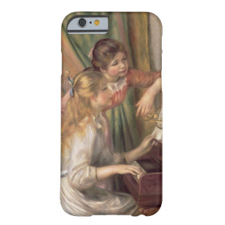 Pierre ein Renoir | junge Mädchen am Klavier Barely There iPhone 6 Hülle