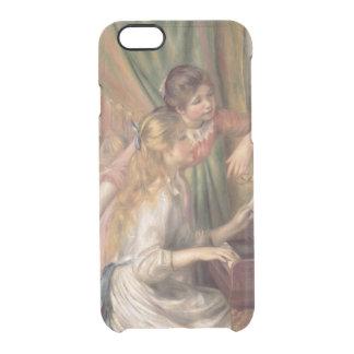 Pierre ein Renoir | junge Mädchen am Klavier Durchsichtige iPhone 6/6S Hülle