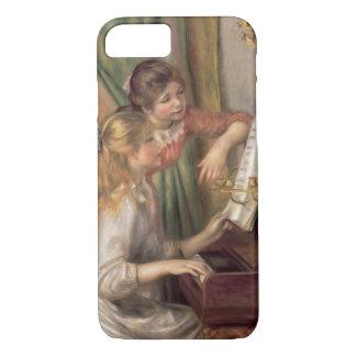 Pierre ein Renoir | junge Mädchen am Klavier iPhone 8/7 Hülle