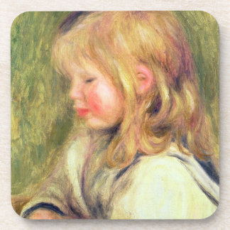 Pierre ein Renoir | Kind in einer weißen Untersetzer