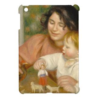 Pierre ein Renoir | Kind mit Spielwaren iPad Mini Hülle
