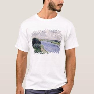 Pierre ein Renoir | Lastkähne auf der Seine T-Shirt