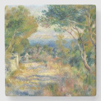 Pierre ein Renoir | L'Estaque Steinuntersetzer