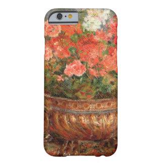 Pierre ein Renoir | Pelargonien in einem kupfernen Barely There iPhone 6 Hülle