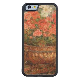 Pierre ein Renoir | Pelargonien in einem kupfernen Bumper iPhone 6 Hülle Ahorn