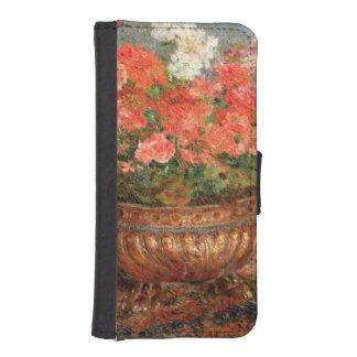 Pierre ein Renoir | Pelargonien in einem kupfernen Geldbeutel Hülle Für Das iPhone SE/5/5s