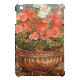 Pierre ein Renoir | Pelargonien in einem kupfernen iPad Mini Hülle