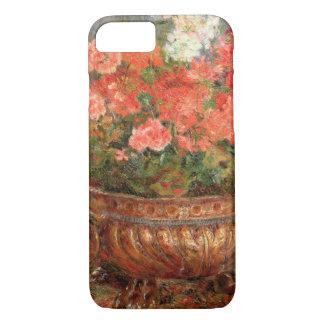 Pierre ein Renoir | Pelargonien in einem kupfernen iPhone 8/7 Hülle