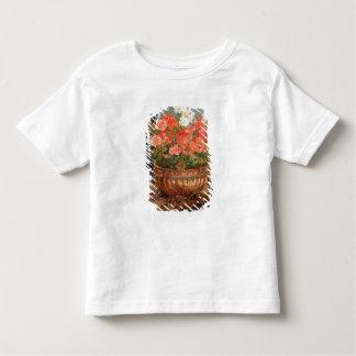 Pierre ein Renoir | Pelargonien in einem kupfernen Kleinkind T-shirt