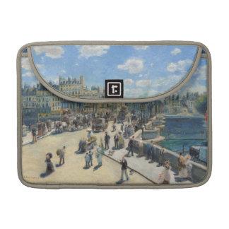 Pierre ein Renoir | Pont Neuf, Paris MacBook Pro Sleeve