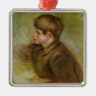 Pierre ein Renoir | Porträt der Cocos Silbernes Ornament