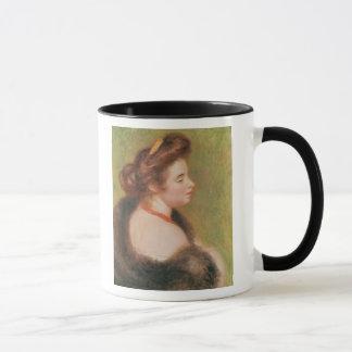 Pierre ein Renoir   Porträt von Frau Maurice Denis Tasse