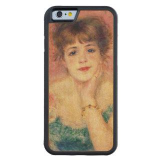 Pierre ein Renoir | Porträt von Jeanne Samary Bumper iPhone 6 Hülle Ahorn