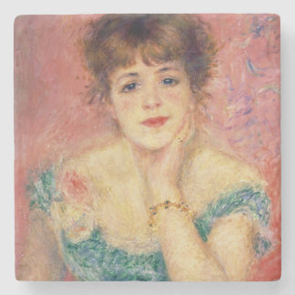 Pierre ein Renoir | Porträt von Jeanne Samary Steinuntersetzer