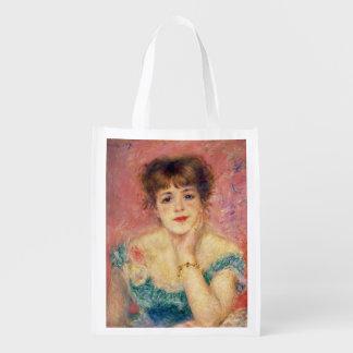 Pierre ein Renoir | Porträt von Jeanne Samary Wiederverwendbare Einkaufstasche