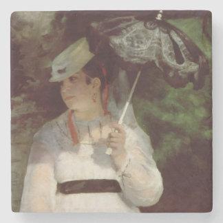 Pierre ein Renoir | Porträt von Lise Steinuntersetzer