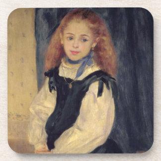 Pierre ein Renoir | Porträt von Mademoiselle Getränkeuntersetzer