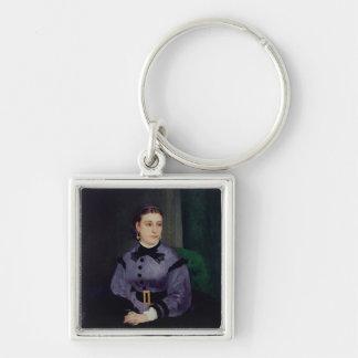 Pierre ein Renoir | Porträt von Mademoiselle Sicot Schlüsselanhänger