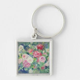 Pierre ein Renoir | Rosen 2 Schlüsselanhänger