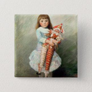 Pierre ein Renoir | Suzanne Quadratischer Button 5,1 Cm
