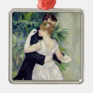 Pierre ein Renoir | Tanz in der Stadt Silbernes Ornament
