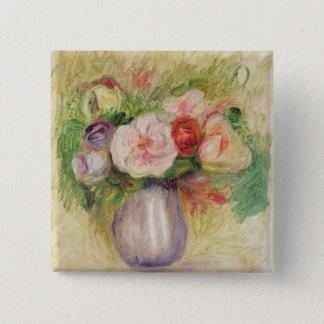 Pierre ein Renoir | Vase Blumen Quadratischer Button 5,1 Cm