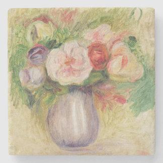 Pierre ein Renoir | Vase Blumen Steinuntersetzer