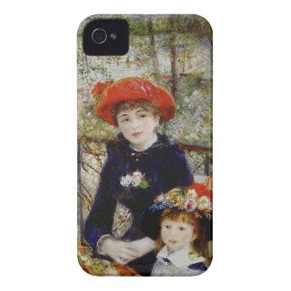 Pierre ein Renoir | zwei Schwestern oder auf der iPhone 4 Case-Mate Hülle