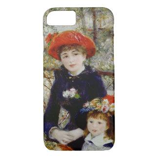 Pierre ein Renoir | zwei Schwestern oder auf der iPhone 8/7 Hülle