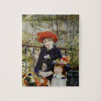 Pierre ein Renoir | zwei Schwestern oder auf der Puzzle
