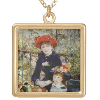 Pierre ein Renoir | zwei Schwestern oder auf der Vergoldete Kette