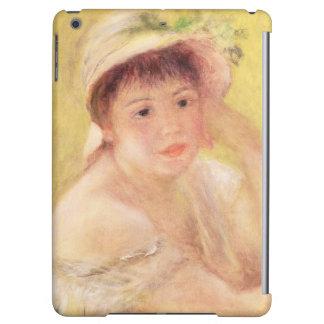 Pierre eine Renoir | Frau in einem Strohhut